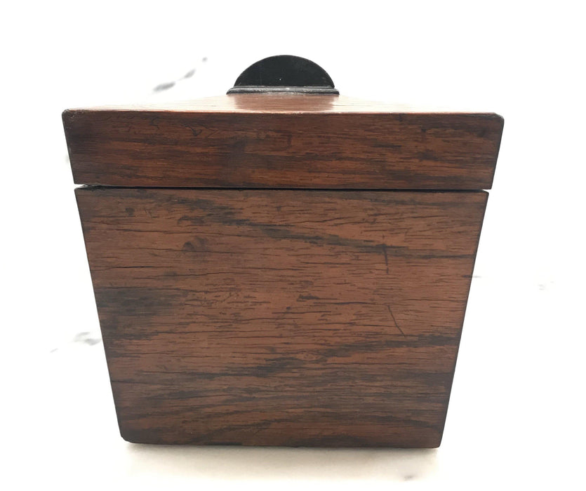 British Rosewood Tea Box For Sale
