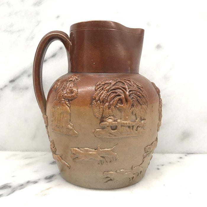 Antique British Doulton Stoneware Pitcher or Jug