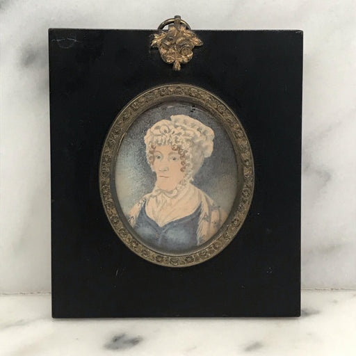 for sale British Georgian Miniature Painting