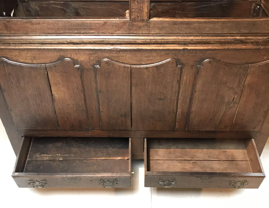 18th Century Early Oak Welsh Wardrobe/Armoire/Clothes Press/Housekeeper's Hanging Cupboard To Buy