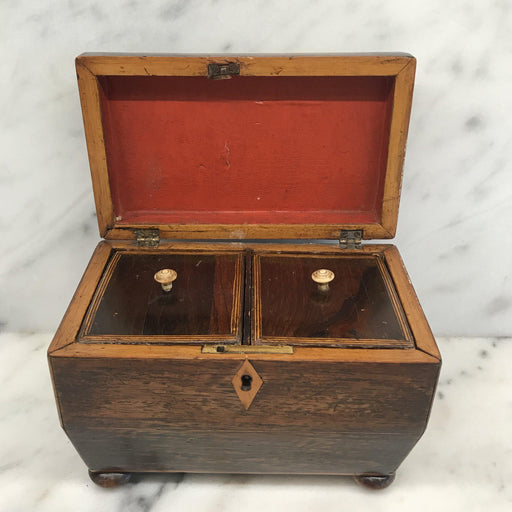 Early Georgian British Tea Box For Sale