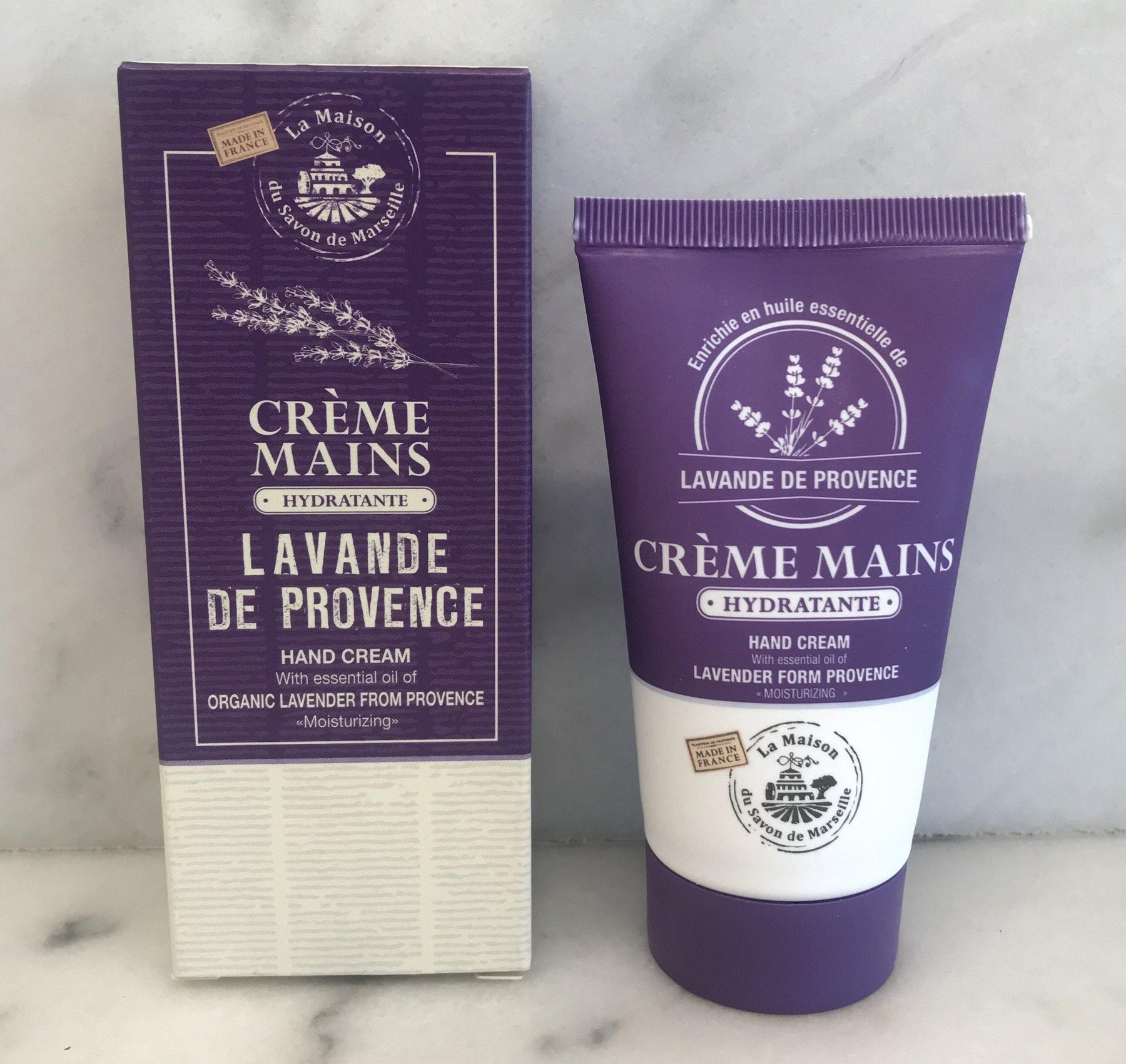French Lavender Hand Lotion (Creme Mains Lavande) by Maison du Savon de Marseille for sale