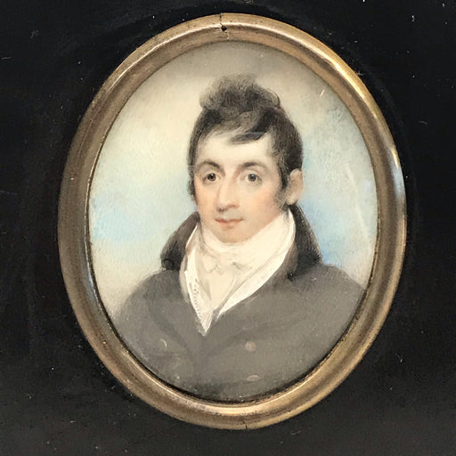 To sell: Detailed British Miniature of Georgian Gentleman