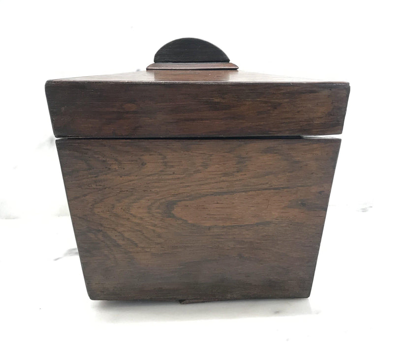 British Rosewood Georgian Tea Box with Original Key To Buy