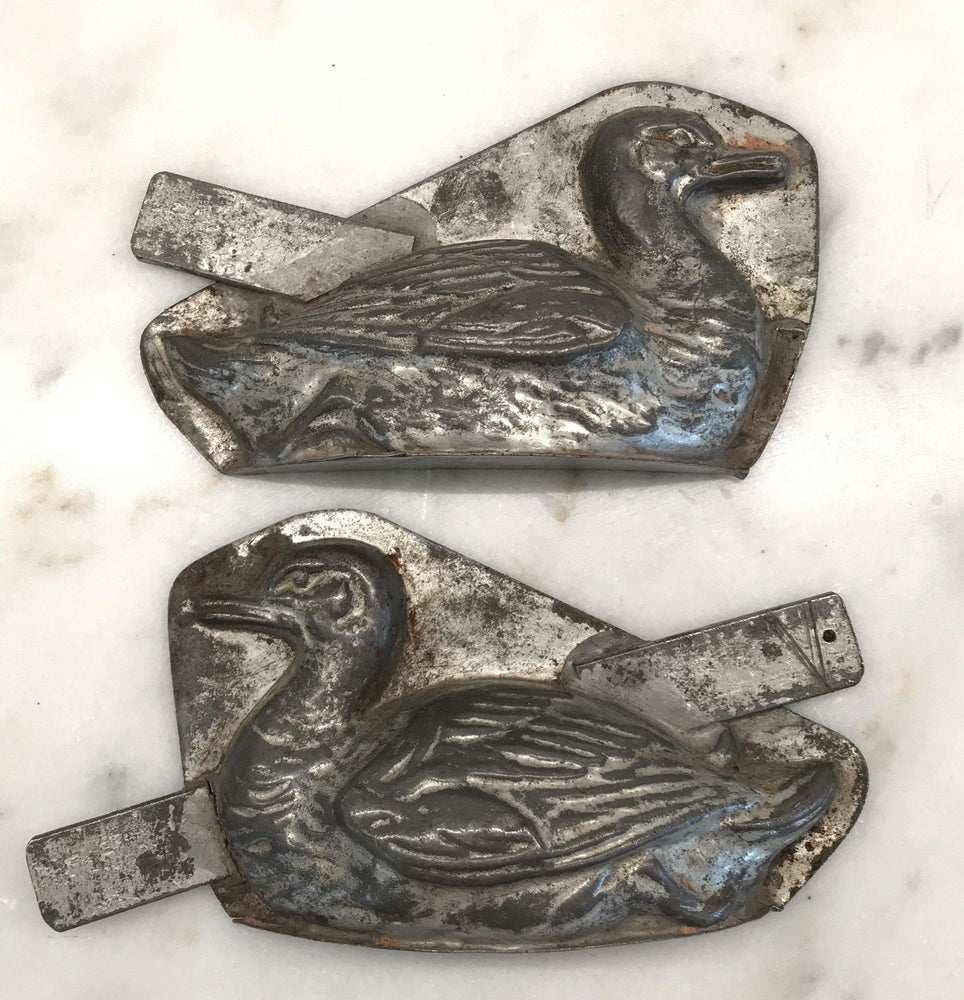 Parisian Chocolate Duck Mold (Two Pieces) For Sale