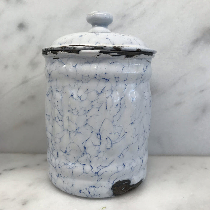 Buy This: French Canister Three Piece Set Blue and White