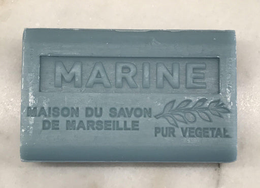 French Ocean Soap (Marine) by Maison du Savon de Marseille For Sale