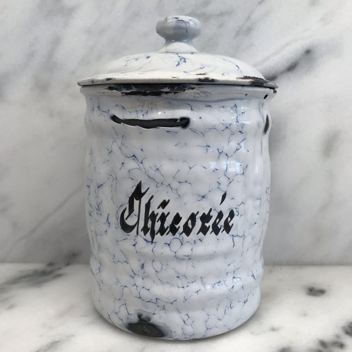 French Canister Three Piece Set Blue and White To Buy
