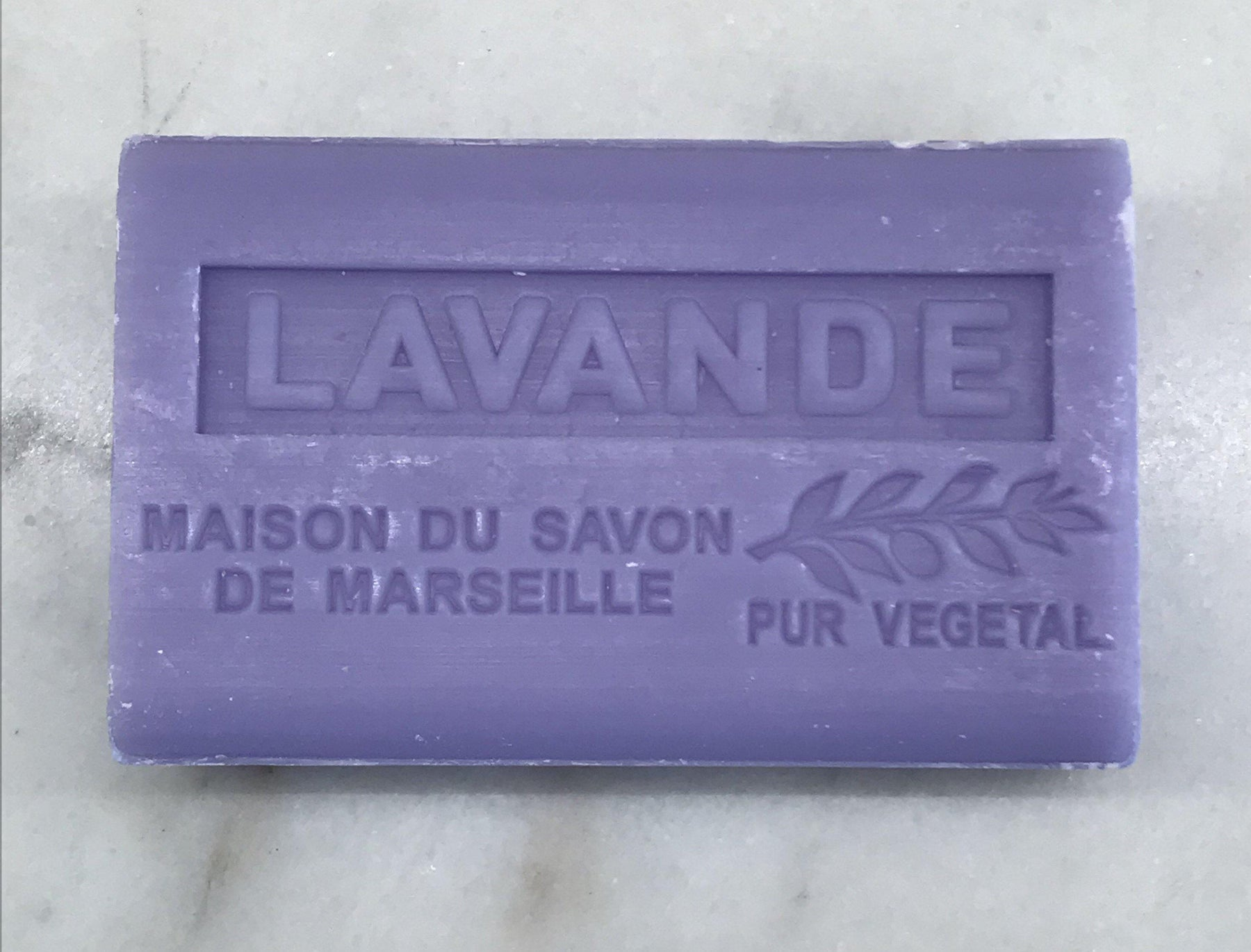 French Lavender Soap (Lavende) by Maison du Savon de Marseille for sale