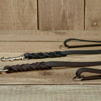 "LEATHER LEASH FROM 1,20M ""CLASSIC"""