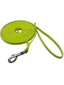 Tracking Leashes Biothane 12 mm neon yellow 10m