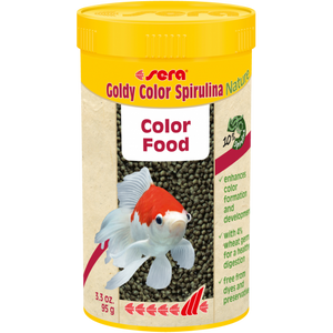 SERA GOLDY COLOR SPIRULINA NATURE 250 ML/95G