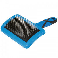 GROOM PROFESSIONAL CURVED FIRM SLICKER BRUSH-LARGE