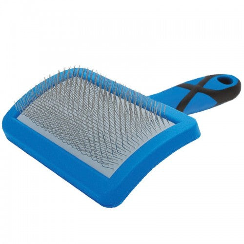 GROOM PROFESSIONAL CURVED SOFT SLICKER BRUSH-SMALL