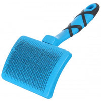 GROOM PROFESSIONAL SELF CLEANING SLICKER FIRM BRUSH-LARGE