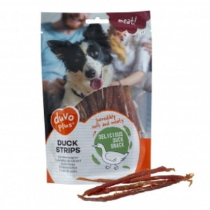DUVO+ DOG SNACK DUCK STRIPS 80G