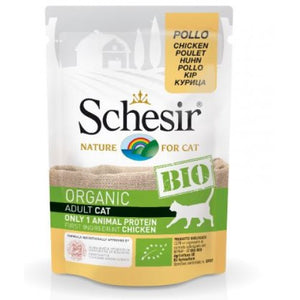SCEHSIR CAT POUCH BIO- CHICKEN 85 GM (C420)