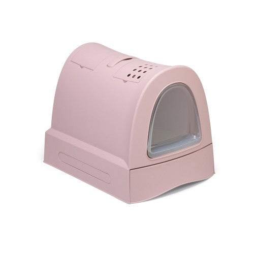 IMAC CAT LITTER BOX [CAT TOILET] -40 x 56 x 42.5 cm-PINK-83486