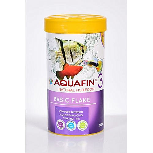 AQUAFIN BASIC FLAKE FOOD 500 ML