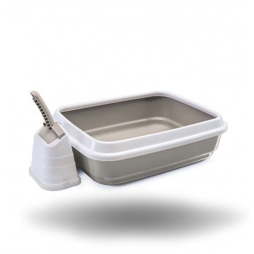 IMAC Litter Tray+ Scoop with stand- 59x40x28 CM