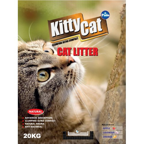 PADO KITTY CAT ROUND CAT LITTER 20 KG