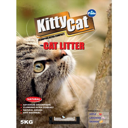 PADO KITTY CAT ROUND CAT LITTER 5 KG