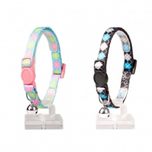 DUVO+ CAT COLLAR SQUARES NYLON 20-30CM/10MM