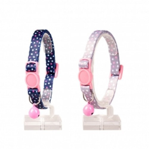DUVO+ CAT COLLAR DOTS NYLON 20-30CM/10MM