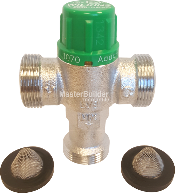 Mixing Valves: Manual and Thermostatic