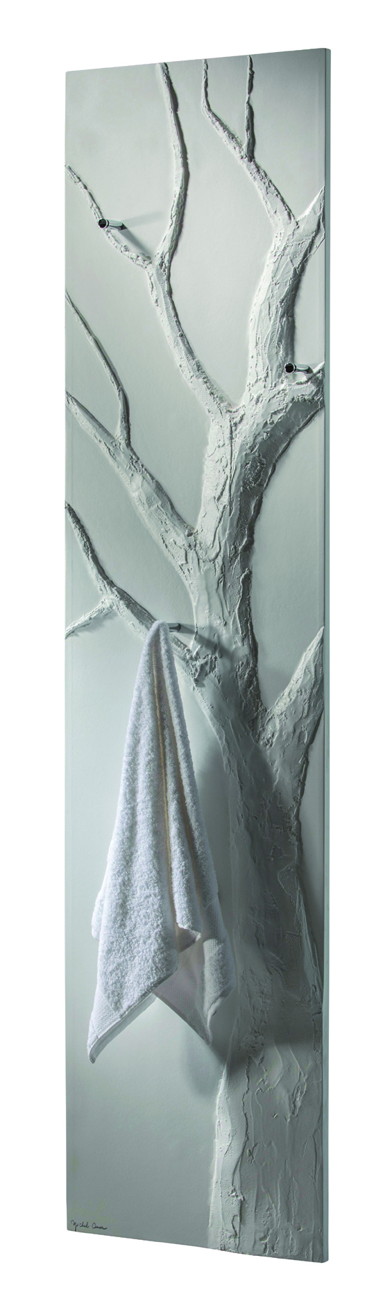 Cinier Arbre Bain Bath Tree Towel Warmer & Radiator in Olycal Stone