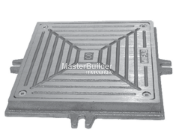 MIFAB C1300-S-1 Scoriated Nickle Bronze Access Cover and Frame for Floor and Wall Applications