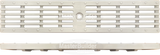 "Zurn P4-HPP-WHITE 4-1/8"" Wide Heel-Proof Slotted Grate White"