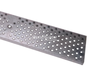 "Zurn P4-PG 4-1/8"" Wide Perforated Galvanized Steel Grate"