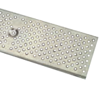 "Zurn P6-PS40 6"" Wide Fabricated 304 Stainless Steel Perforated Grate Class A"