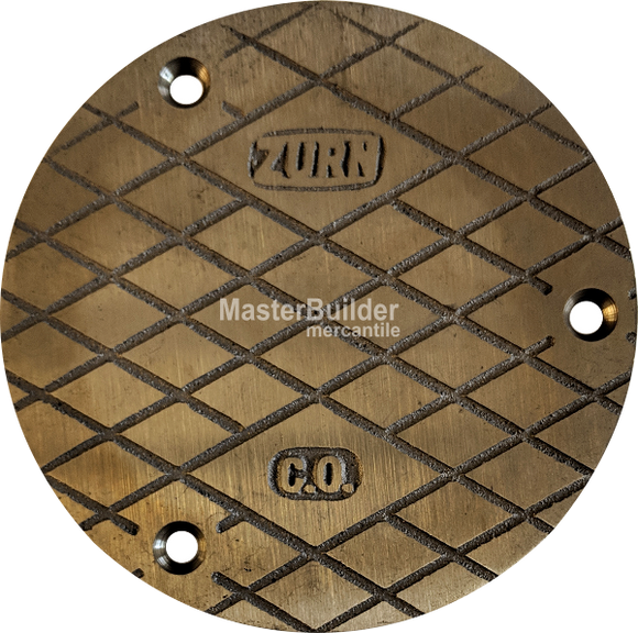 Zurn PN1400-COVER-3 ZN1400 Series Nickel Bronze Scoriated Cover