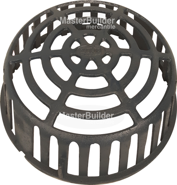 Zurn P100-DOME-CI Cast Iron Low Profile Dome for Z100 Series Roof Drains