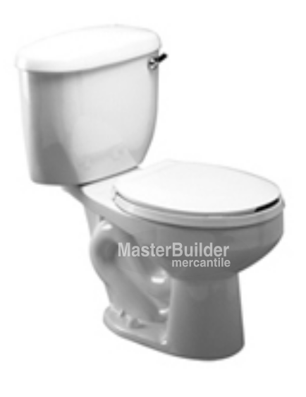 Zurn Z5540 1.6 GPF Round, Siphon Jet Two-Piece Toilet - DISCONTINUED