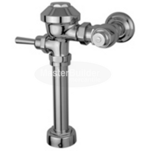 "Zurn Z6000 3.5 GPF Aquaflush Exposed Flush Valve with Top Spud Connection for Water Closets with 11-1/2"" Rough-In"