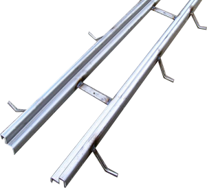 Zurn Z886-HDG Heavy-Duty Galvanized Steel Frame for Zurn Z886 Presloped Trench Drain