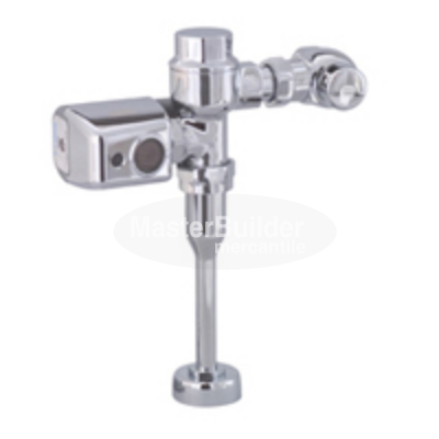 Zurn ZER6203-CPM 1.5 GPM Sensor Operated Battery Powered Exposed Flush Valve for Urinals