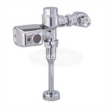 Zurn ZER6203-EWS-CPM 0.5 GPM Sensor Operated Battery Powered Exposed Flush Valve for Urinals