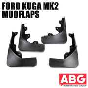 Ford Kuga Mk2 Escape 2012 On Set of 4 Mud Flaps Splash Guards
