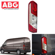 Ford Transit Mk8 2014 On Rear Tail Light Lamp Lens - Left N/S Passenger Side