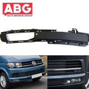 VW Transporter T6 2015 Onwards Front Bumper Fog Grille Cover with Fog Hole Right Side