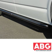 VW Transporter T6 SWB 2015 Onwards Black Side Bars