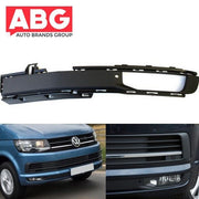 VW Transporter T7 2015 Onwards Front Bumper Fog Grille Cover with Fog Hole Left Side