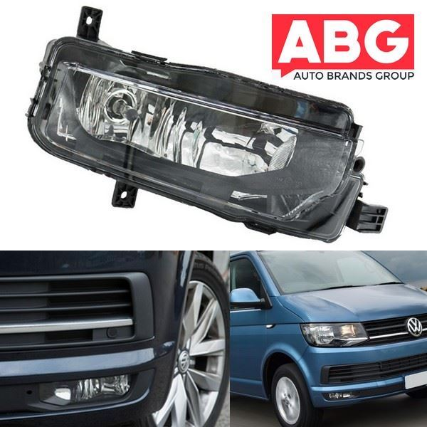 VW Transporter T6 2016 Onwards Front Fog Light Lamp with Bulb Halogen Lights Right Side