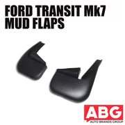 Ford Transit Mk7 2006 to 2013 Pair Rear Mudflaps Splash Guards