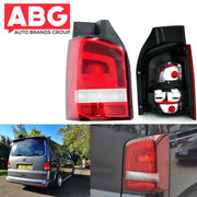 VW Transporter T5 T6 Rear Back Tail Light Lamp Lens Caravelle 2010 On Left N/S