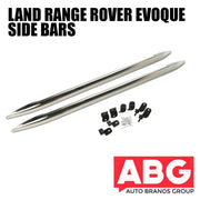 Range Rover Evoque Side Steps Bars 2011 On Chrome Polished S/ Steel VPLVP0071
